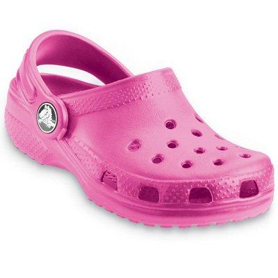 Crocs Kids Classic Clog, Fuchsia, J3