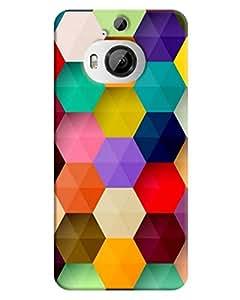 FurnishFantasy 3D Printed Designer Back Case Cover for HTC One M9 Plus