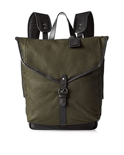 Cole Haan Men's Waxed Canvas Backpack, Olive
