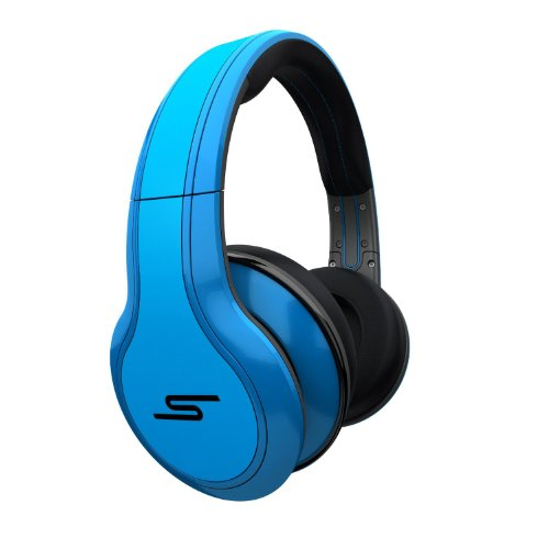 SMS Audio STREET By 50 Cent Over-Ear Wired Headphones - Blue Black Friday & Cyber Monday 2014