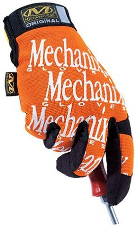 Mechanix Wear MG-09-010 Original Glove, Orange, Large