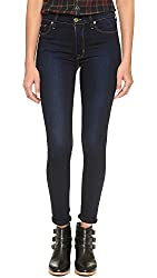 Hudson Women's Barbara High Waisted Super Skinny Jeans