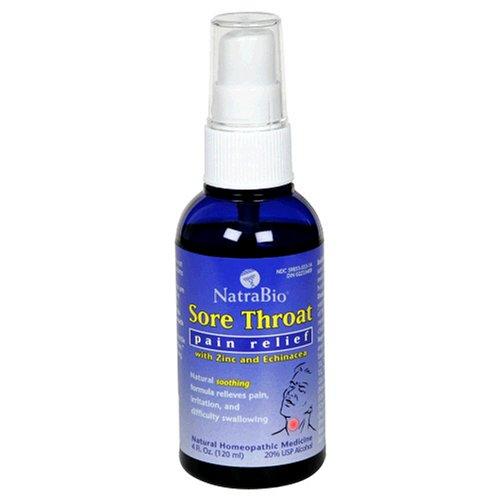Natra-Bio Sore Throat Spray 4 oz Spray (Sore Throat Spray compare prices)