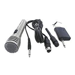 Krown Economical Series Cordless / Wireless Dynamic Microphone