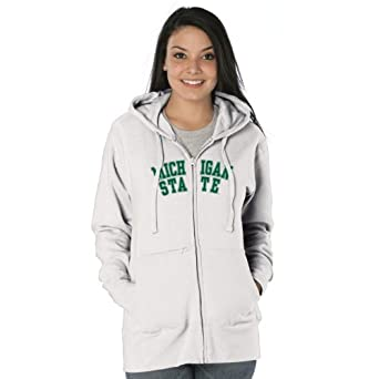 NCAA Michigan State Spartans Ladies Franchise Redux Nuvola Full-Zip Sweatshirt by Ouray Sportswear
