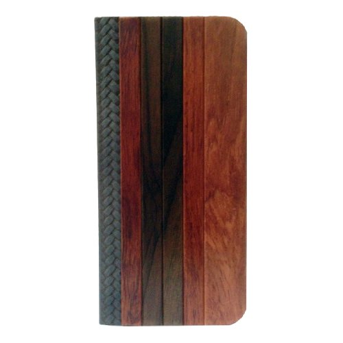 Deluxe Hua Li Wood+Big Ebony Assists Natural Wood+Holster+Plastic Skin Iphone5 Wood Case Cover For Apple Iphone5S Wood Covers Skins