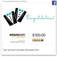 Amazon Gift Card - Facebook - Wedding (Two Tuxes)