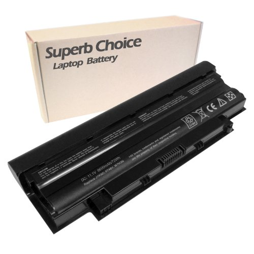 Splendid Choice 9-Cell Laptop Battery for DELL Inspiron 17R Inspiron 17R(N7010) Inspiron 17R(N7110)