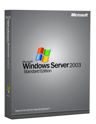 Microsoft Windows Server Standard 2003 - 5 Clients [Old Version]