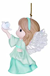 Precious Moments Company Annual Angel Holding Dove Ornament