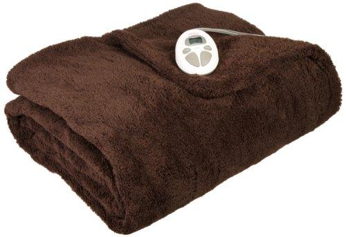 Sunbeam Lofttech Heated Blanket, Twin, Walnut, Bsl8Cts-R470-16A00
