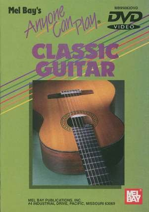 Anyone Can Play Classic Guitar [VHS] [Import]