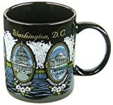 Washington D.C. Mug - Blossoms, Washington DC Mugs, Washington DC Souvenirs, WDC Coffee Mugs