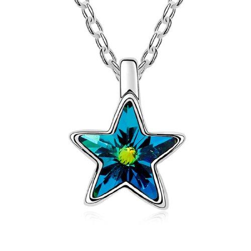 Boxingcat Fine Jewelry Swarovski Style Clear Austrian Crystal Pendant Necklaces Bgca10079 front-554105
