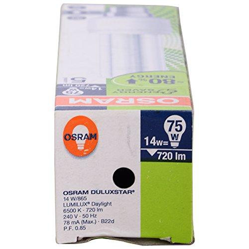 Stick-B22d-14W-CFL-Bulb-(Cool-Day-Light,-Pack-of-2)