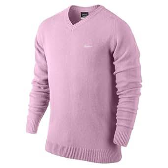 2013 Nike Golf Men's Lambswool V-Neck L.C Sweater-Parfait Rose- XXL