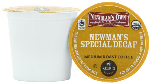 Green Mountain Coffee Newman s Special Decaf, K-Cup Portion Pack for Keurig K-Cup Brewers, Certified Organic, 24-Count