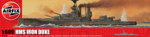 Airfix A04210 1:600 Scale HMS Iron Duke Warship Classic Kit Series 4