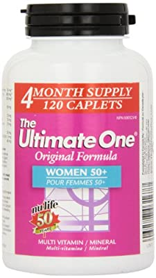 Nu-Life The Ultimate One Original Women 50 Plus Caplets, 120 Count Bottle