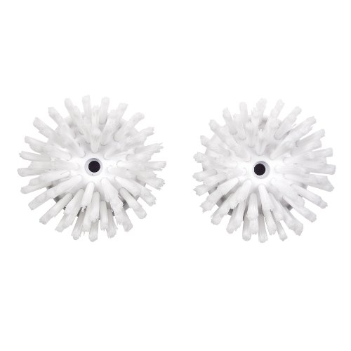OXO Good Grips 1256500 Soap Squirting Palm Brush Refills, Pack of 2