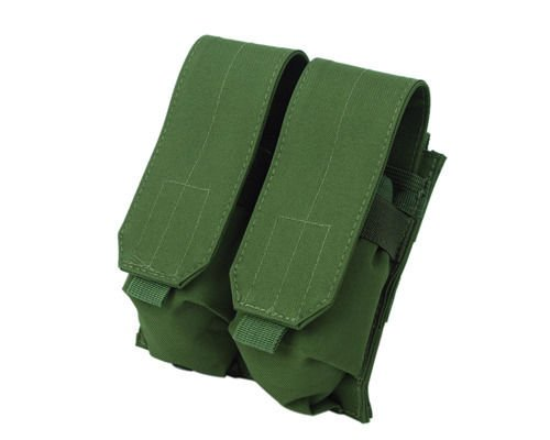 Tactical Molle Double 5.56 Magazine Holder Airsoft Hunting Ammo Pouch Bag Green (9mm Bullet Belt compare prices)