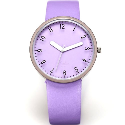 AMPM24 Fashion Women Lady Purple Dial Leather Sport Quartz Wrist Watch Gift
