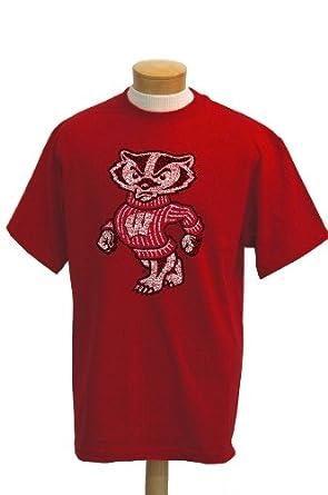 Buy NCAA Wisconsin Badgers Biggies Short Sleeved T-Shirt by CI Sport