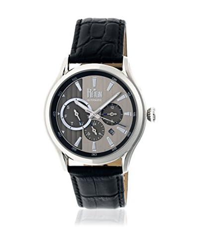 Reign Reloj con movimiento automático japonés Gustaf Reirn1501 Negro 43  mm