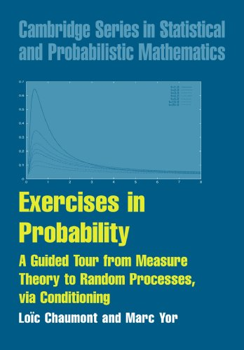 Exercises in Probability: A Guided Tour from Measure Theory to Random Processes, via Conditioning