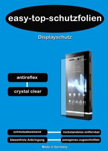 easy-top-schutzfolien Crystal Clear Displayschutzfolie passend für Prestigio MultiPad 8.0 Pro Duo PMP 5580C_Duo