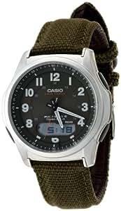 [カシオ]CASIO 腕時計 WAVECEPTOR ウェーブセプター 世界6局電波対応ソーラーウォッチ 革/レザーバンド採用 アナデジモデル WVA-M630B-3AJF メンズ