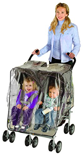 Nuby Side by Side Stroller Weather Shield (Side By Stroller compare prices)