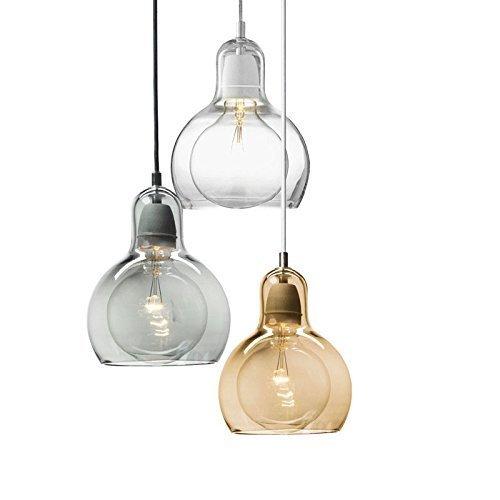 Lightess lampada a sospensione in stile vintage for Lampadario amazon