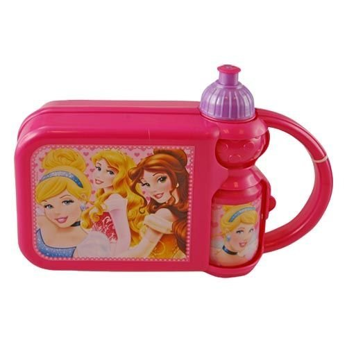 Lunch Box - Disney - Princess - Combo with Water Bottle - 1