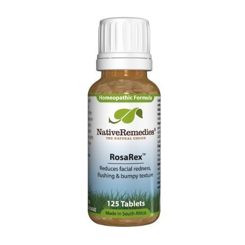 Native Remedies Rosarex To Temporarily Reduce Facial Redness And Flushing (125 Tablets)