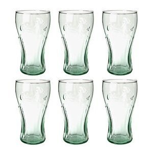 Genuine Coca-Cola Glasses - Set Of 6 (Made By Libbey In The Usa) front-244633
