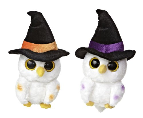 Owls Pidwee Midnight Black, Orange, and Purple Witch Hat