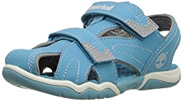 Timberland Adventure Seeker CT Sandal (Toddler/Little Kid), Light Blue, 5 M US Toddler