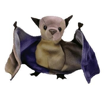 Ty Beanie Babies - Batty the Ty-Dyed Bat - 1