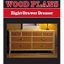 8-Drawer Dresser Plan