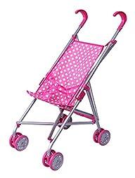 Precious Toys Pink & White Polka Dots…