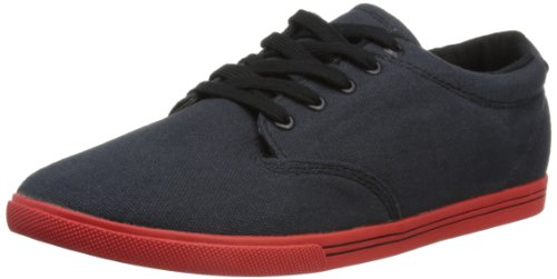 Globe Mens Lighthouse Slim Low-Top 22261 Vintage Black/Red 10 UK, 45 EU