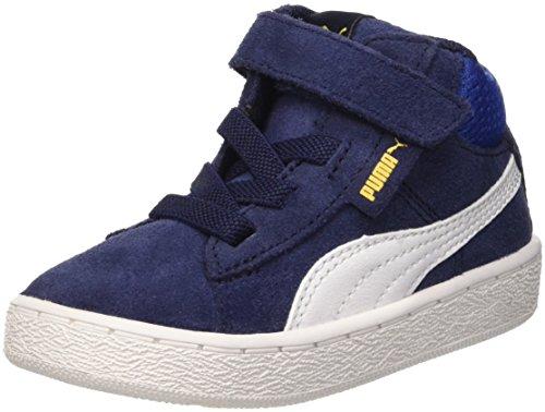 Puma 1948Mid V Inf, Sneaker da Bambini, Blu (Peacoat/Bianco), 24 EU (7 UK)