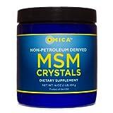 NON-Petroleum Derived MSM Crystals (16 Oz)