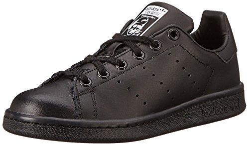 adidas Performance Stan Smith J Tennis Shoe (Big Kid), Black/Black/Running White, 6 M US Big Kid (Adidas Shoes For Big Boys compare prices)