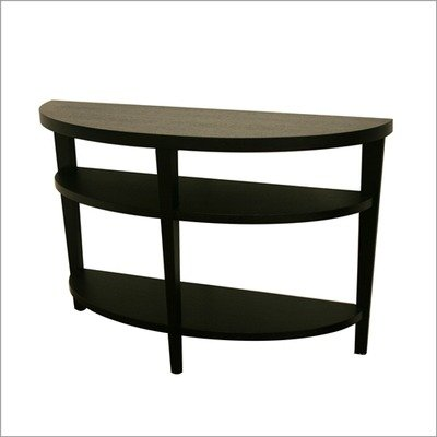 Cheap Baxton Studio Charleston Console Sofa Table in Black (DT-805-black)