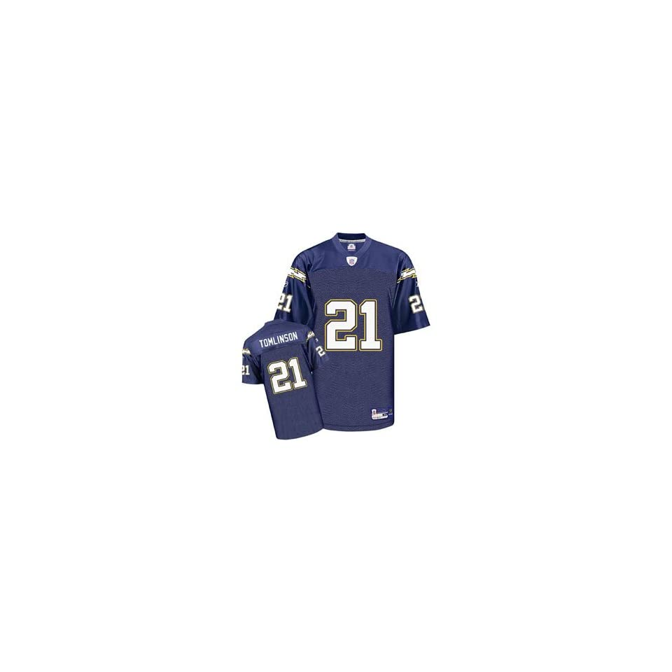 LaDainian Tomlinson #21 San Diego Chargers NFL Replica Player Jersey By Reebok (Team Color)(2006)