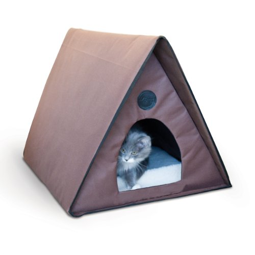 Detail Of: K&H Manufacturing Outdoor Kitty A-Frame Cat House