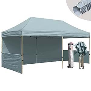 eurmax premium 10x20 pop up tent canopy craft display trade show tent portable. Black Bedroom Furniture Sets. Home Design Ideas
