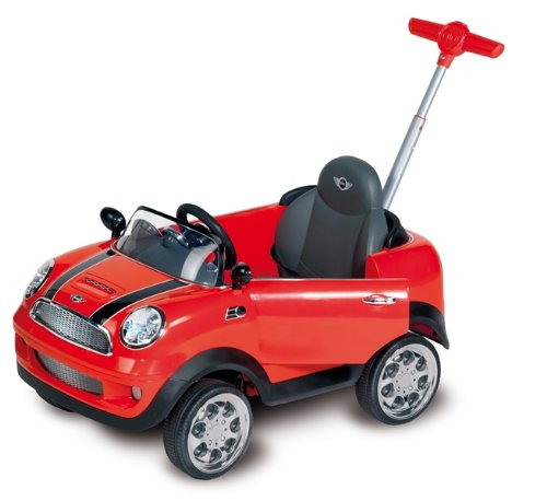 Biemme 1612R - Primipassi Mini Cooper Push Car
